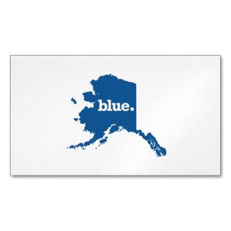 ALASKA BLUE STATE MAGNETIC BUSINESS CARDS