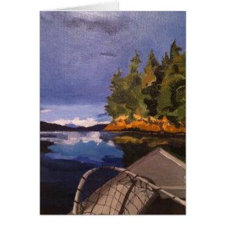 "Alaska Boat Cards- ""Bad Day Fishing"" Card"