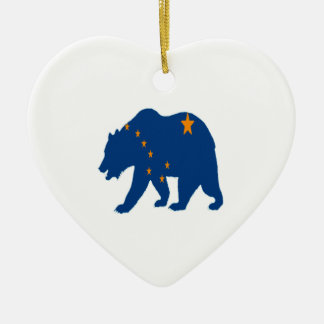 Alaska Bound Ceramic Ornament