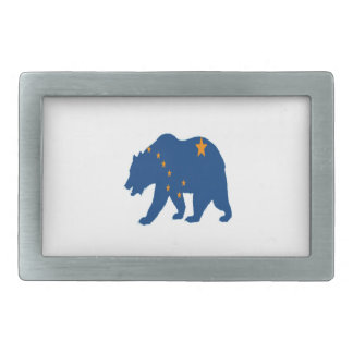 Alaska Bound Rectangular Belt Buckle