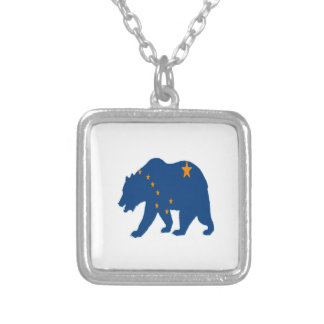 Alaska Bound Silver Plated Necklace