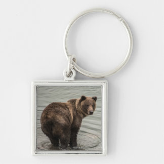 Alaska Brown Bear (Grizzly) Key Ring