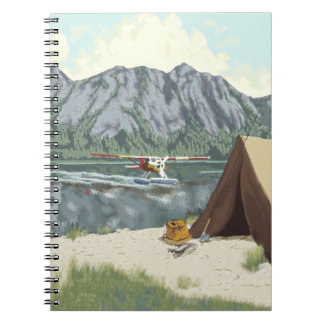 Alaska Bush Plane And Fishing Travel Notebook
