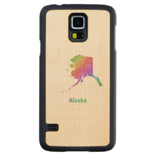 Alaska Carved Maple Galaxy S5 Case