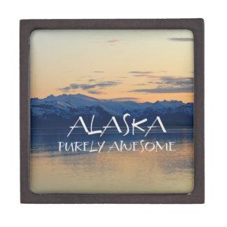 Alaska Coast - Purely Awesome Premium Trinket Boxes