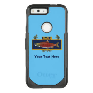 Alaska Combat Fisherman Badge OtterBox Commuter Google Pixel Case