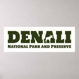 Alaska. Denali National Park and Preserve Poster
