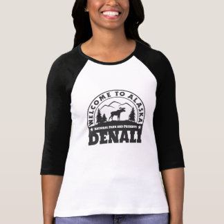Alaska. Denali National Park and Preserve T-Shirt