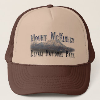 Alaska Denali National Park Mt McKinley Trucker Hat