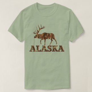 Alaska Elk Tshirt