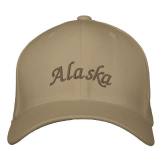 Alaska Embroidered Hat