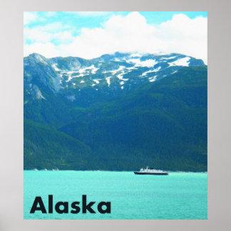 Alaska Ferry Poster