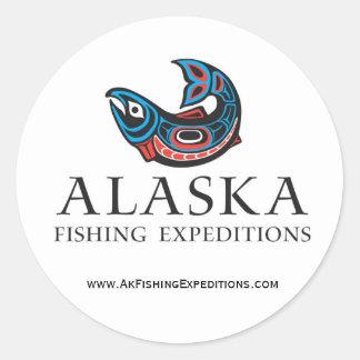 Alaska Fishing Expedtions sticker