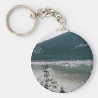 Alaska Fjord Key Ring