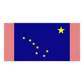 Alaska Flag Photo Card