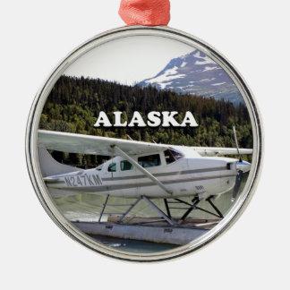 Alaska: Float plane, Trail Lake 3 Metal Ornament