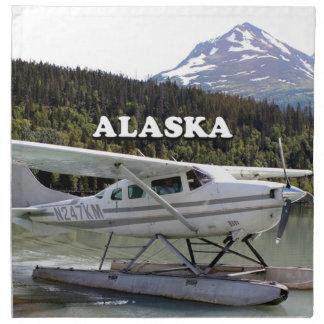 Alaska: Float plane, Trail Lake 3 Napkin