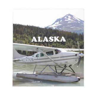 Alaska: Float plane, Trail Lake 3 Notepad