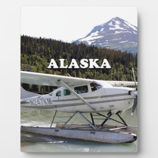Alaska: Float plane, Trail Lake 3 Plaque