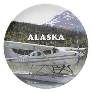 Alaska: Float plane, Trail Lake 3 Plate