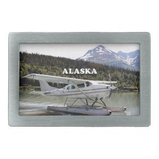 Alaska: Float plane, Trail Lake 3 Rectangular Belt Buckle