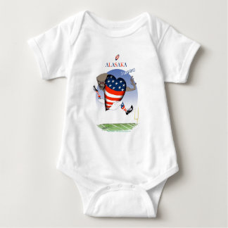 alaska football champs, tony fernandes baby bodysuit