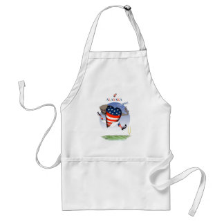 alaska football champs, tony fernandes standard apron