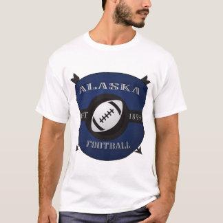 Alaska Football Shield Logo T-Shirt
