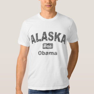Alaska for Barack Obama Tshirts