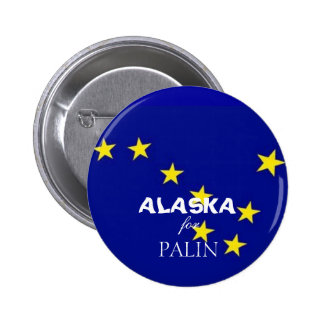Alaska for Palin 6 Cm Round Badge