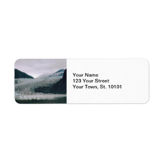 Alaska Glacier Return Address Label