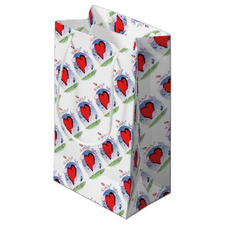 alaska head heart, tony fernandes small gift bag