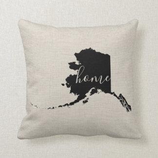 Alaska Home State Throw Pillow