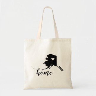 Alaska Home State Tote Bag