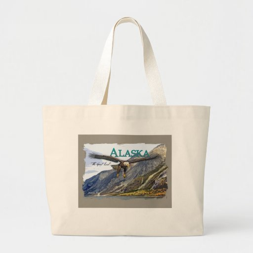 Alaska Jumbo Tote Bags