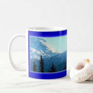 ALASKA KACHEMAK BAY MOUNTAINS COFFEE MUG