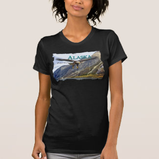 Alaska Ladies Twofer Sheer (Fitted) T-Shirt
