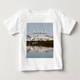 Alaska: Lake reflections of mountains Baby T-Shirt