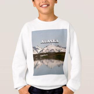Alaska: Lake reflections of mountains Sweatshirt