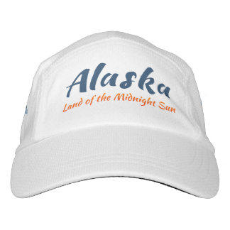 Alaska. Land of the Midnight Sun - Color Logo Hat