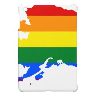 Alaska LGBT Flag Map Cover For The iPad Mini