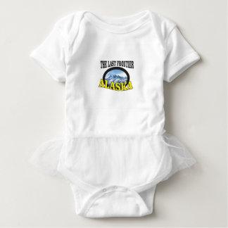 alaska logo art baby bodysuit