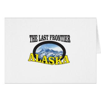 alaska logo art card