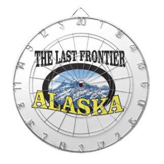 alaska logo art dartboard