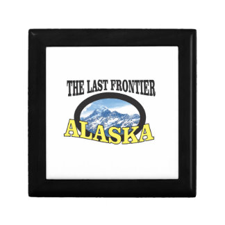 alaska logo art gift box