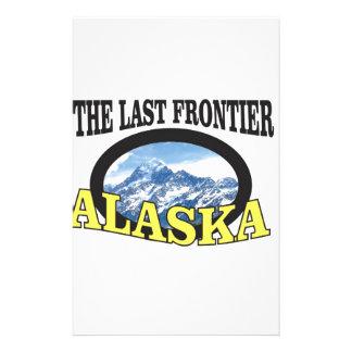 alaska logo art stationery
