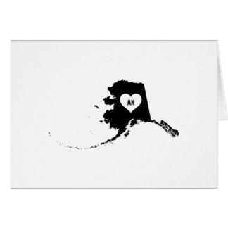 Alaska Love Card