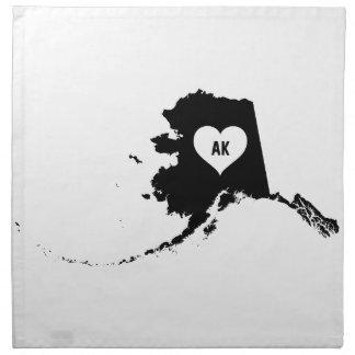 Alaska Love Napkin