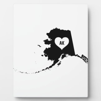 Alaska Love Plaque