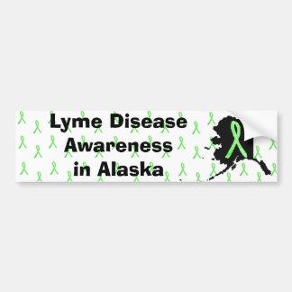 Alaska Lyme Disease Awaremess Bumper Sticker